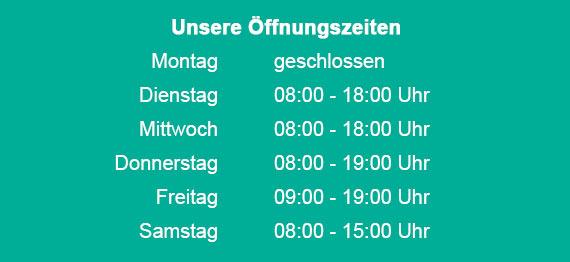 Figaros Friseur Kuppenheim Baden-Baden Rastatt Murgtal - Öffnungszeiten