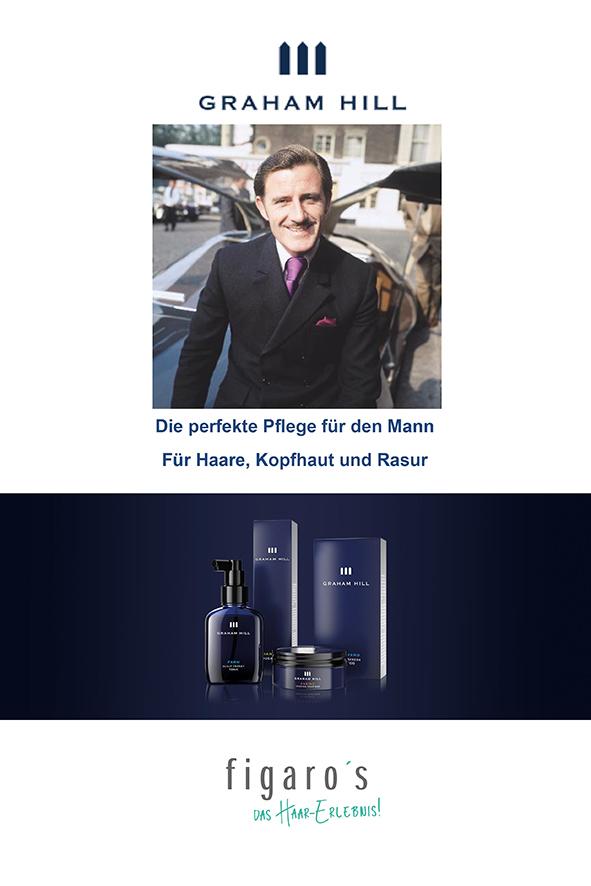 Figaros Friseur Kuppenheim Baden-Baden Rastatt Murgtal - Die perfekte Pflege für den Mann - Für Haare Kopfhaut und Rasur