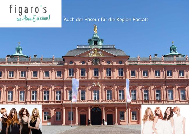 Figaros Friseur Kuppenheim Baden-Baden Rastatt Murgtal - Rastatt vor dem Schloss