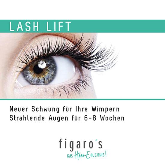 Figaros Friseur Kuppenheim Baden-Baden Rastatt Murgtal - Lash-Lift