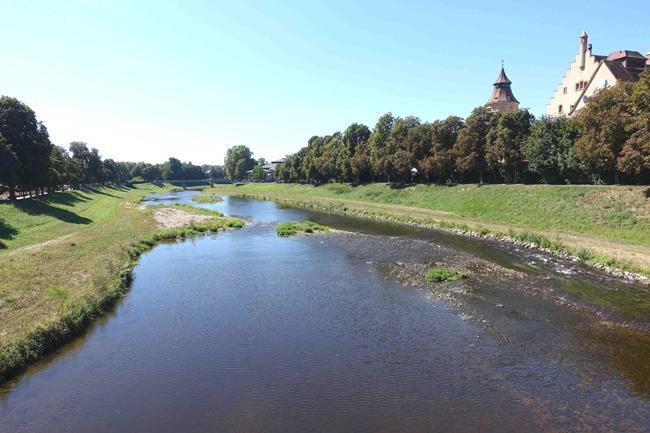 Figaros Friseur Kuppenheim Baden-Baden Rastatt Murgtal - Die Murg fließt durch Rastatt