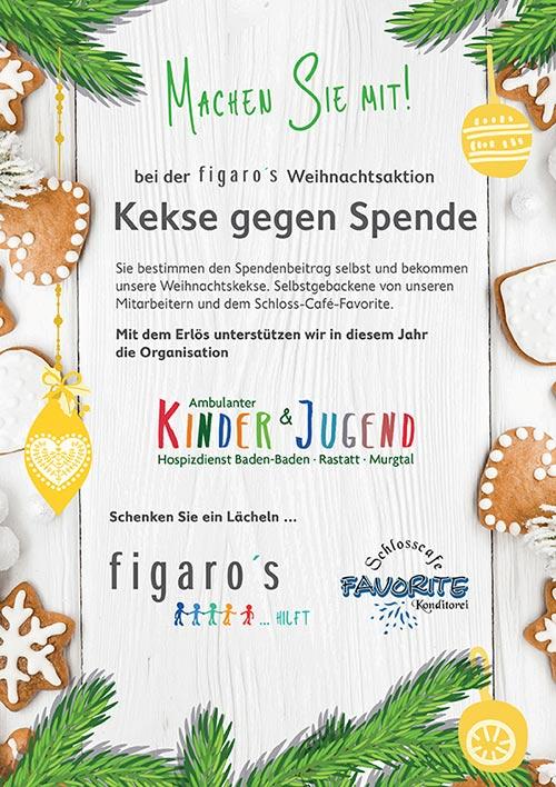 Figaros Friseur Kuppenheim Rastatt Baden-Baden - Weihnachtsaktion 2018 -1