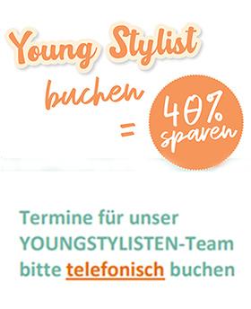 Figaros Friseur Kuppenheim Baden-Baden Rastatt Murgtal - Angebot Youngstylist 40 % sparen
