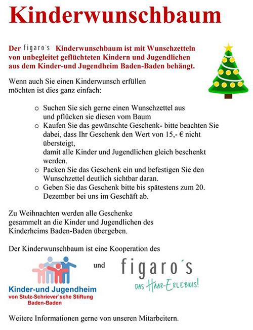 Figaros Friseur Kuppenheim Rastatt Baden-Baden - Kinderwunschbaum 2017 -1